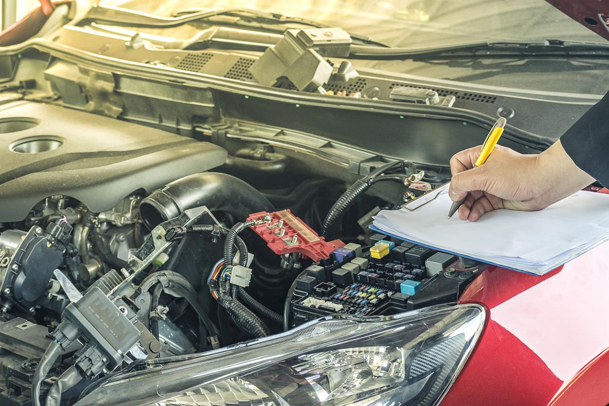 Coe car evaluation by mechanic
